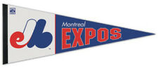 MONTREAL EXPOS 1970s-Retro Cooperstown Collection MLB Premium Felt PENNANT