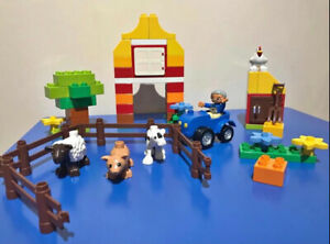 LEGO Duplo 6141 My First Farm Set with Animals Cow Pig Sheep Tractor