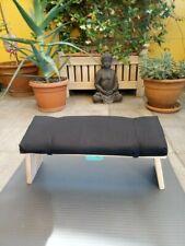 panca sgabello da meditazione con cuscino / meditation stool