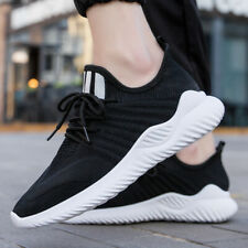 Men's Running Shoes Outdoor Casual Sock Shoes Breathable Sneakers Plus Size