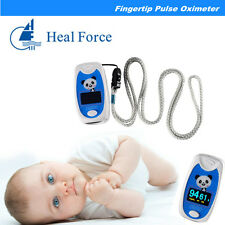 1*Child/Pediatric Finger Pulse Oximeter SpO2 & PR Oxygen LCD CE Alarm Kids Use