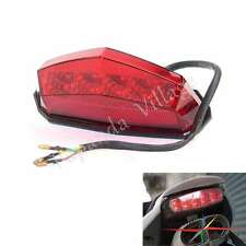 EURO Motorcycle 10 LED Taillight Tail Lamp For Megelli 250s 250r 250m 2007-2012
