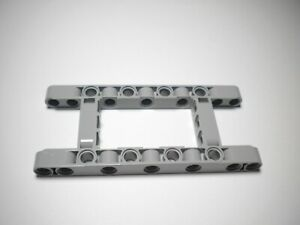 264 Lego Technic 1x 4540797 Liftarmrahmen 5x11 breit grau offene Mitte NEUWARE