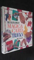 The Amazing Book Of Magic Y Tarjeta Jon Tremaine Demuestra 1996 Leo Buen Estado
