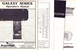 Galaxy Series Operators & Service Manuals Kit, Logic Board Map 092717DBE