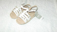 Next Size 8 WHITE BUTTERFLY SANDALS *BNWT* New Shoes Summer Infant Girls