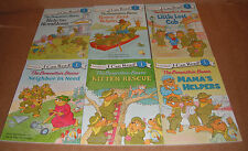 Lot of 6 The Berenstain Bears I Can Read by Berenstain Jan Paperback NEW