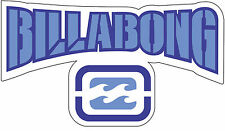 "Billabong  vinyl  wall sticker decal large 14.5"" x 8.4"""