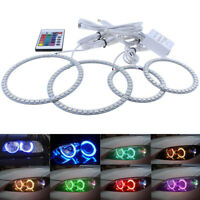 RGB Multi-Color SMD Angel Eyes Halo Rings Kit For Ford Mondeo MK III 2002-2007