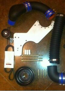 88-96 Ford F150 Bronco 93-95 Lightning Supercharger Mount Kit Powerdyne Vortech