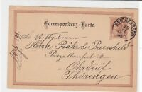 austria 1890  stamps card ref 20917
