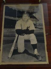 mickey mantle vintage original poster