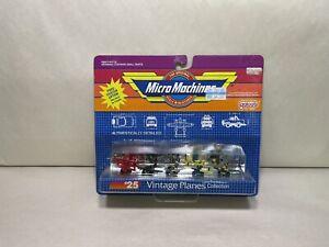 GALOOB MICRO MACHINES #25 VINTAGE PLANES 6400 1988 NOS FOKKER Sealed New