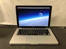 Apple Macbook 13-inch Laptop A1278 MB466LL/A 2.0GHz Core 2 Duo 4GB RAM 500GB SSD