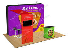 Trade show A15 Display pop-up booth 10ft - 10x10 exhibition booth