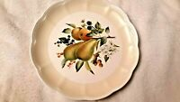 """Lenox Orchard In Bloom Pear Blossom 11"""" Dinner Plate Cathrine McClung"""