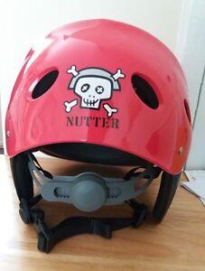 Nutter Watersport Kayak Helmets Adjustable Small -  Medium 51-56cm