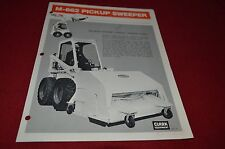 Bobcat Skid Loader M-662 Pickup Sweeper Attachment Dealers Brochure DCPA2