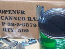 P38 P-38 Can Opener 5 Army Military USMC Mess Kit Scout Vietnam C Ration Shelby