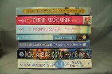 lot  paperback books Whiskey Beach Blue Dahlia The Dressmaker Matter of Marriage