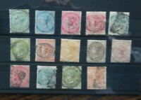 Jamaica 1883 - 1897 values to 2s Used