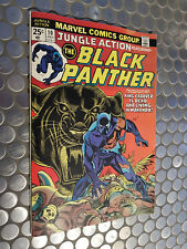 MARVEL JUNGLE ACTION BLACK PANTHER #10 KING CADAVER V/G COSTUME PROTOTYPE KIRBY