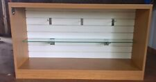 Small Retail Display Slatwall Fixture With Extras Custom Made By Pin