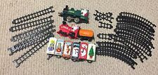 RARE Vintage Coca Cola Mexico Christmas Train Set Santa Claus And Friends! Lot