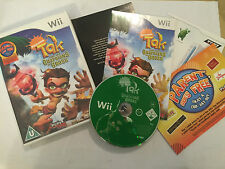 NINTENDO Wii GAME TAK AND THE GUARDIANS OF GROSS +BOX INSTRUCTIONS COMPLETE PAL