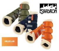 Eskadron Platinum AW19 Mesh Faux Fur Tendon Boots