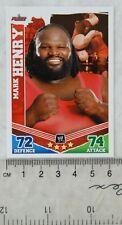 2010 Mark Henry, Topps Slam Attax Mayhem Trading Card