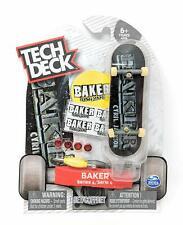 New ULTRA RARE Tech Deck BAKER Fingerboards Skateboards Sk8 Series 4 JACKSON