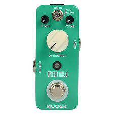 Mooer Green Mile Overdrive Micro Guitar Effects Pedal True Bypass