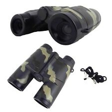 4X 35mm Camouflage Children Gift Portable Plastic Binocular Telescope Toy S0