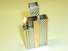 CHANTELOUP PARIS ARGENT SOLID SILVER POCKET LIGHTER - 1930 - FRANCE - VERY RARE