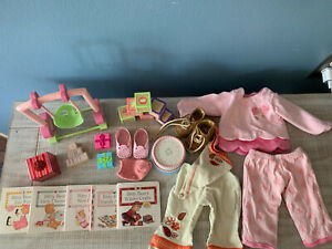 american girl bitty baby accessories lot Clothes Shoes Toys Books
