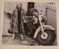 RUTH GORDON SIGNED B&W PHOTO (Rosemary's Baby, Harold & Maude)