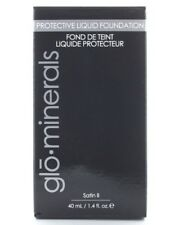 Glominerals Protective Liquid Foundation BEIGE MEDIUM (Satin ll) NIB!