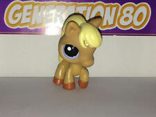 Littlest PetShop Poney Marron Criniere Jaune N°1081 Pet Shop Horse Pony Cheval