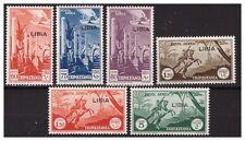LIBIA  1940/41  -  POSTA AEREA  - SERIE NUOVA  **