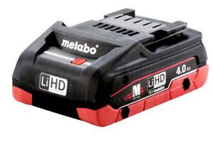 Metabo Akkupack LiHD 18V - 4,0 Ah (625367000)