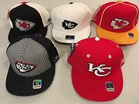 Kansas City Chiefs Flat Brim Fitted Onfield NFL Caps Reebok SELECT 1 of 5 STYLES