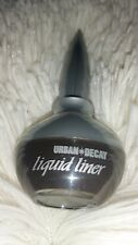 New Urban Decay Liquid Black Eye Liner, Full Size 7.5 ml