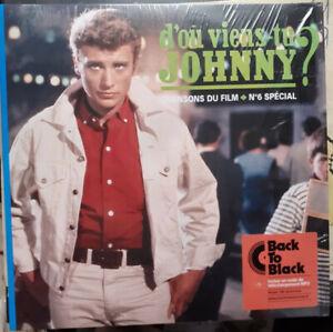 LP Johnny Hallyday - D'ou viens tu Johnny - 2017 Back to black