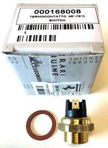 Ferrari Radiator Fan Thermal Switch Kit #168008KIT W/Fiber Washer Algar Ferrari