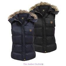 Women's Faux Fur gilet bodywarmer Coats & Jackets