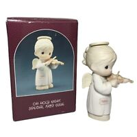 """Enesco Precious Moments """"Oh Holy Night"""" Special Issue 1989 Figurine In Box"""