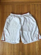 Nike Team Men's White Shorts Bulls Pockets Size Xl
