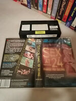 SEX AT 24 FRAMES PER SECOND - HOLLYWOOD'S SEXIEST FEMALE FILM STARS - VHS Issue!