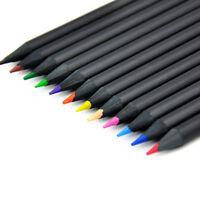 12x. METALLIC Buntstifte Farbstifte Malstifte Künstlerstift Künstlerfarbsti L3Q5